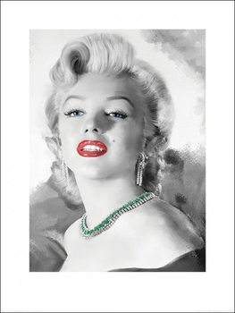 Marilyn Monroe - Diamonds Are A Girl's Best Friend Poster