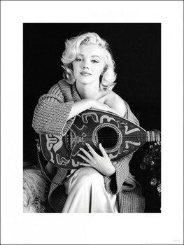Poster Marilyn Monroe - Lute