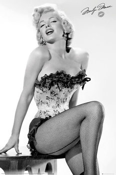 Poster Marilyn Monroe - Table