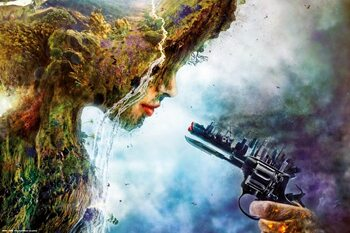 Poster Mario Sanchez  Nevado - Betrayal