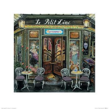 Konsttryck  Melissa Sturgeon - Le Petit Zinc