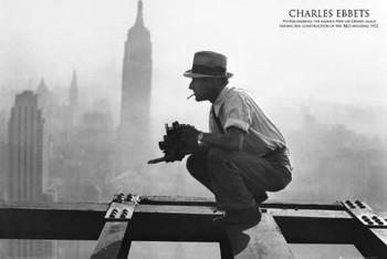 Poster Men on girder - charles c.ebbets