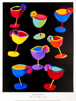 Midnight Margaritas Kunstdruck