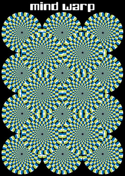 Poster  Mind warp - circles