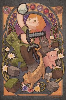 Poster Minecraft - Sword