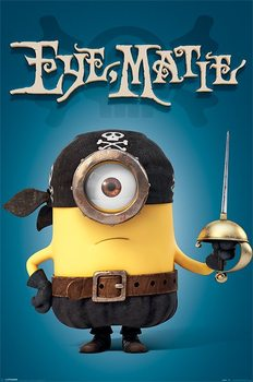 Minions (Despicable Me) - Eye Matie poster