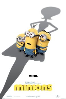 Poster Minions (Despicable Me) - Uh Oh