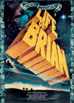 Poster MONTY PYTHON - das leben des brian
