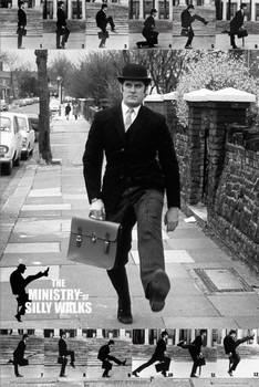 Плакат Monty Python - the ministry of silly walks