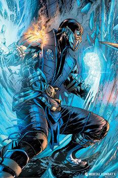 Плакат Mortal Kombat - Sub Zero