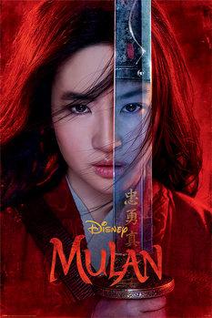 Póster Mulan - Be Legendary