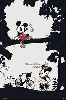 Poster Musse & Mimmi Pigg - Pretty