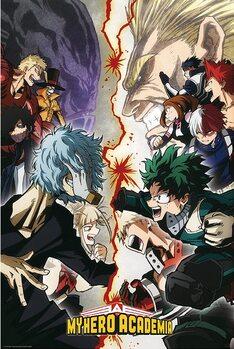 Плакат My Hero Academia - Heroes VS. Villains