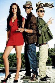 N Dubz - band Poster