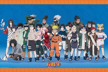 Póster Naruto Shippuden - Konoha Ninjas