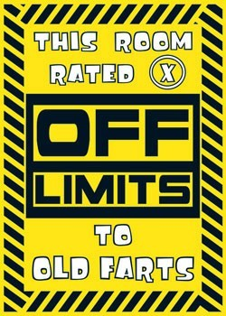 Poster Off limits - X Rated