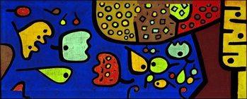 Konsttryck P.Klee - Fruchte Auf Blau