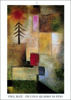 Konsttryck P.Klee - Piccolo Quadro Di Pino