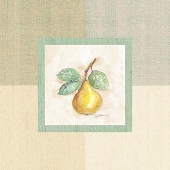 Pear Inside Kunstdruck