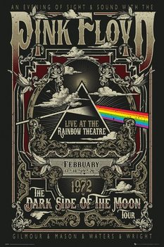 Poster  Pink Floyd - Rainbow Theatre