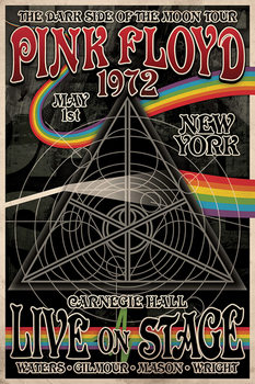 Poster Pink Floyd - Tha Dark Side of the Moon Tour