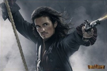 Poster PIRATES OF CARIBBEAN - will rope