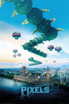 Poster Pixels - Centipede