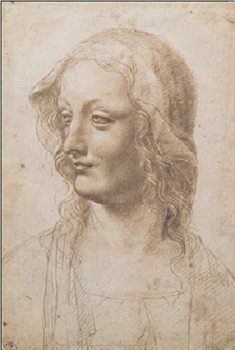 Konsttryck Portrait of a Woman - Busto Di Donna