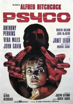 Poster Psycho - Italian