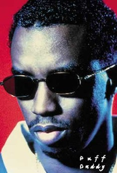 Poster Puff Daddy - sunglasses