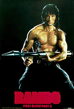 RAMBO II - First blood part 2 Poster
