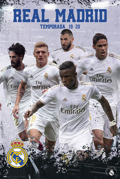 Poster Real Madrid 2019/2020 - Grupo