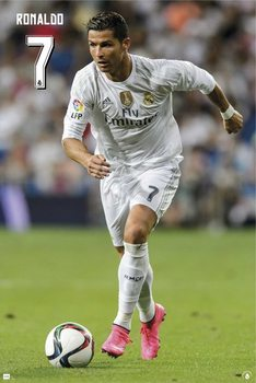 Poster Real Madrid CF - Ronaldo 15/16