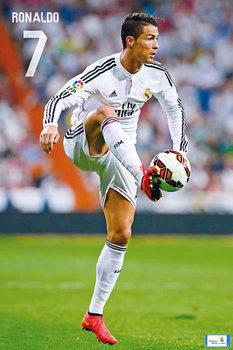 Poster Real Madrid CF - Ronaldo Nr. 7 CR7 14/15