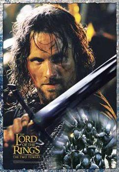 Poster Sagan om de två tornen - Aragorn