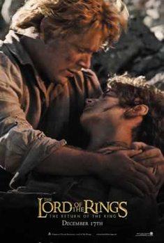 Poster Sagan om konungens återkomst - Frodo and Sam