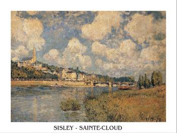 Saint-Cloud Kunstdruck