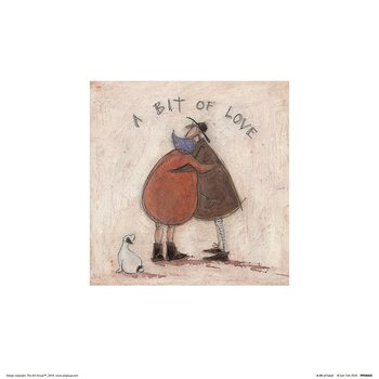 Sam Toft - A Bit of Love Kunstdruck