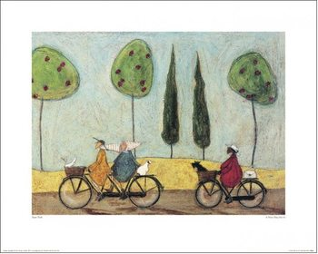 Konsttryck Sam Toft - A Nice Day For It