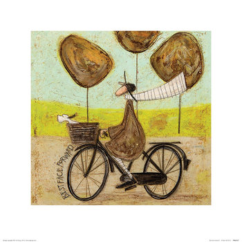 Konsttryck Sam Toft - Best Face Forward