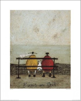 Konsttryck Sam Toft - Bums On Seat