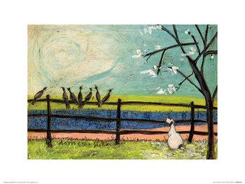 Sam Toft - Doris and the Birdies Kunstdruck