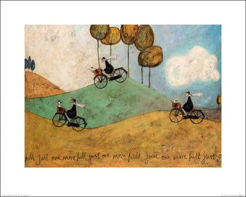 Sam Toft - Just One More Hill Kunstdruck