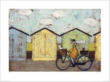 Sam Toft - Off For A Breakfast Poster