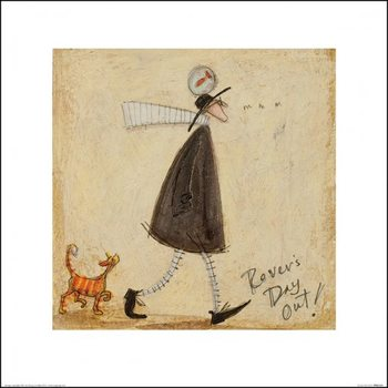 Konsttryck Sam Toft - Rovers Day Out