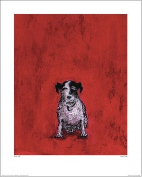 Konsttryck Sam Toft - Small Dog