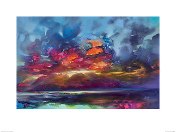 Scott Naismith - Island Light Kunstdruck