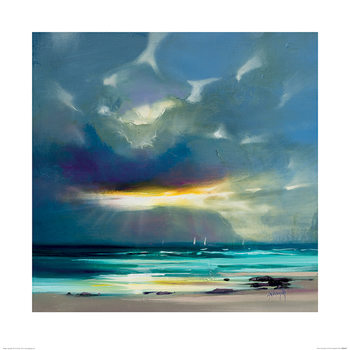 Konsttryck Scott Naismith - West Coast Blues II
