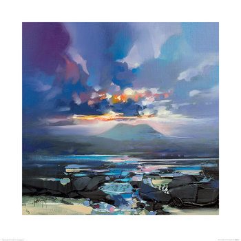 Konsttryck Scott Naismith - West Coast Blues III