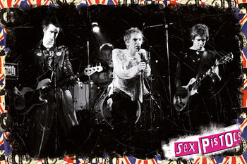 Poster Sex Pistols - On Stage